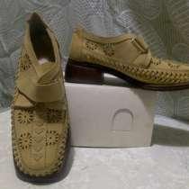 Туфли женские нубук натуральный б/у размер 38-39, в Владимире