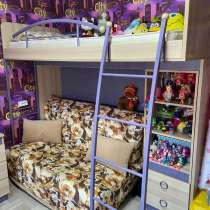 Кровать чердак, в Фокино