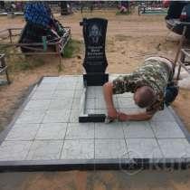 Благоустройство могил-Памятник-Ограда под ключ.Советская 21а, в г.Лида