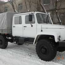 Автомобиль с Двухрядной кабиной на шасси ГАЗ 33088 Садко Бор, в Салехарде