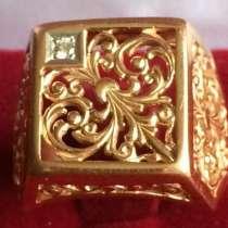 Золотая печатка 10/585*, в Казани