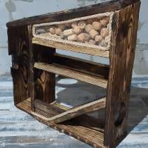 Полка для бутылок (бар) деревянная, в Каменске-Уральском