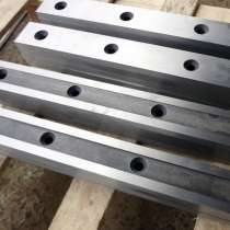 Новые гильотинные ножи 575 75 25мм от производителя в наличи, в Волгограде