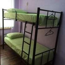 Кровати односпальные, двухъярусные на металлокаркасе Новые, в Геленджике