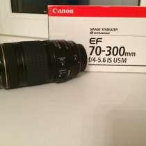 Объектив Canon EF 70-300 mm f/4-5.6 IS USM, в Ярославле