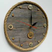 """Часы из дерева 290*290 (мм) """"Ранчо"""", в Нижнем Новгороде"""