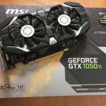 Мощная игровая видеокарта Nvidia GTX 1050TI 4GB, в Екатеринбурге