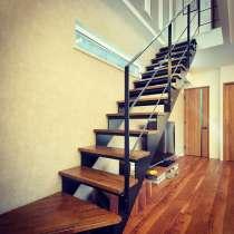 Каркас лестницы из листового металла, в г.Брест
