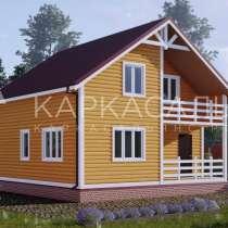 Каркасный Дом под ключ 8х8 по проекту Лахти, в г.Полоцк