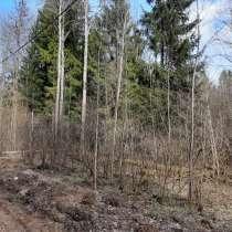 Прилесной участок 13 соток в 50 км по Новорижскому шоссе, в Истре