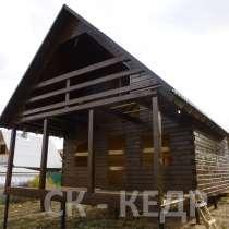 Строительство домов, бань. Каркасное строительство, брусовое, в Красноярске