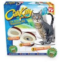 Набор лоток для приучения кошки к унитазу CitiKitty, в Уфе