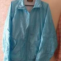 Спортивная кофта голубая, р.50-52 (L), б. у, в г.Брест