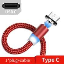 Магнітний Charing кабель USB кабель для Type-C зарядки бомба, в г.Николаев