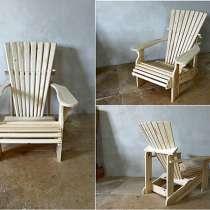 Деревянные кресла - кресла для сада, для бани, в Вологде