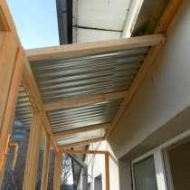 Установка крыш на балкон и лоджию, в г.Минск