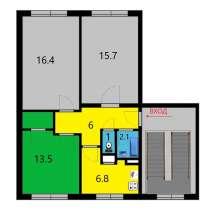 Меняю комнату 13,5 м в 3-х комн.кв-ре Невский р-н на комнату, в Санкт-Петербурге