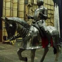 "скульптура из металла""Рыцарь на ко, в Краснодаре"