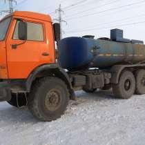 КАМАЗ 43118 автоцистерна, в Набережных Челнах