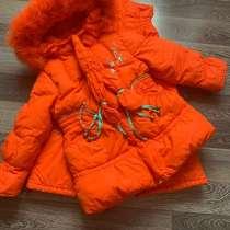 Зимний костюм (комбинезон) для девочки, в Копейске