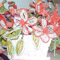 Продам цветы и деревья из бисера, в г.Гомель