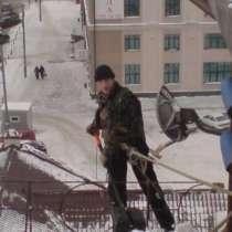 Уборка снега с крыш и очистка кровли от наледи, в Казани