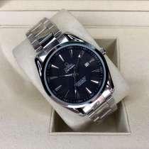 Мужские часы OMEGA Aqua Terra (черные), в Челябинске
