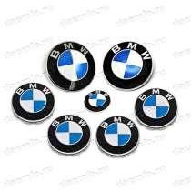 Комплект / набор эмблем и колпачков с логотипом BMW, 7 шт, в Москве