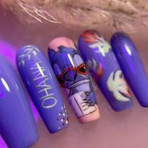 Накладные ногти на заказ, в Москве