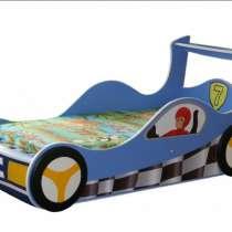 Кровать авто голубая, в Дмитрове