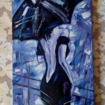 Интерьерная картина Незнакомка (живопись, масло, мастихин), в Москве