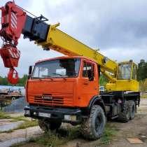 Продам автокран Ивановец, КАМАЗ-43118(6х6),2008г/в, в Сургуте