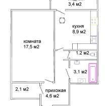 Продаётся однокомнатной квартиры в центре города Смолевичи, в г.Жодино