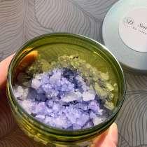 Сакская соль с эфирным маслом и сухоцветами лаванды, в Котельниках