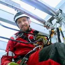Промышленный альпинист верхолаз Рязань Баннер реклама изгото, в Рязани