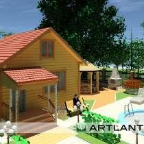 Строительство домов и бань, в Одинцово