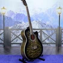 Гитара акустическая (новая) комплект, в Рязани