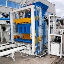 Стационарный вибропресс по производству блоков SUMAB Е-400, в г.Obrany