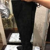 Сапоги Деми покупали в вестфалике до бёдер каблук 8 см устой, в Улан-Удэ