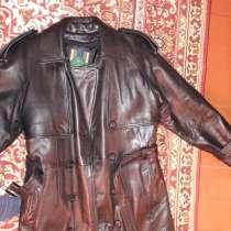 Продаю пальто кожаное, в Екатеринбурге