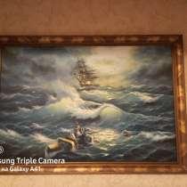 Картина Море, в Москве