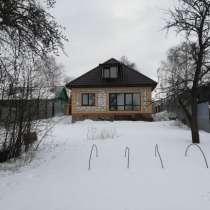 Продается новый не законченный кирпичный дом дом, в Москве