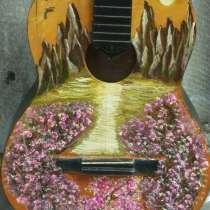 Продаю гитару с расписаными деками, в Ростове-на-Дону