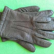 Перчатки мужские кожаные Германия, в Омске