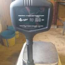 Весы электронные торговые со стойкой ВР4149-11БР, в Нахабино