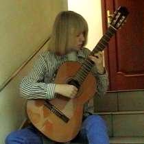 Уроки игры на классической гитаре. Нотная грамота, в Москве