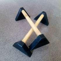 Паралетсы workout (Брусья, упоры, стоялки) 45 см, в Хабаровске