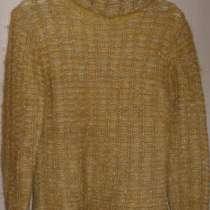 Пуловер мохер/шерсть, р-44 (46), в Новосибирске