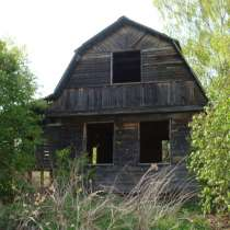 Продается участок с домом – недостроем. ижс, в Коломне
