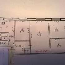 4-к квартира, 58 м2, 1/5 эт. Тургенева 4 Дзержинский р-н, в Волгограде